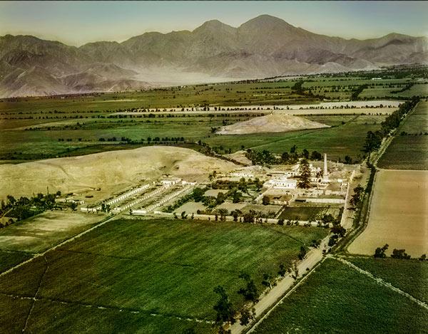 Hacienda Naranjal - Archivo Servicio Aerofotográfico Nacional, 1946
