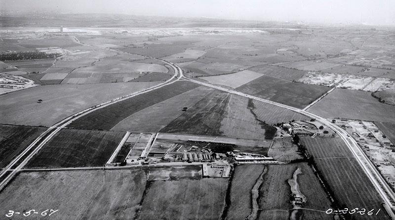 Avenida Tomás Valle y Angélica Gamarra - Archivo Servicio Aerofotográfico Nacional, 1967