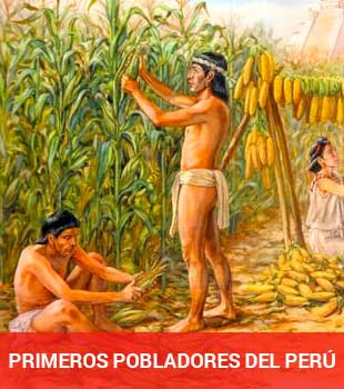 primeros pobladores de la Historia del perú