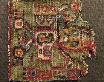 tejido Cultura Mochica