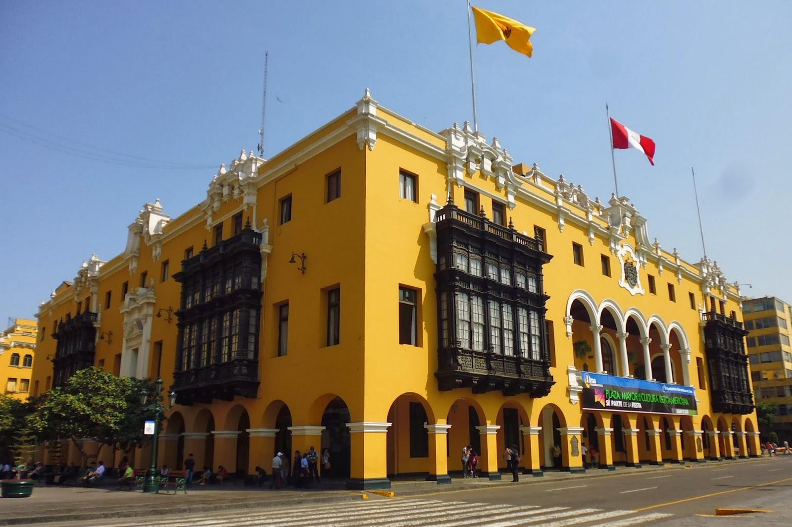 Local del Cabildo o Municipalidad de Lima. Foto: Arturo Gómez.